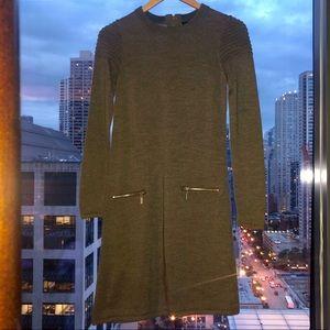 Tahari Dress Beige XS
